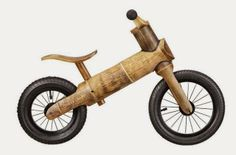 You Have To See This Awesome Bamboo Balance Bike For Kids #bicycle #kids