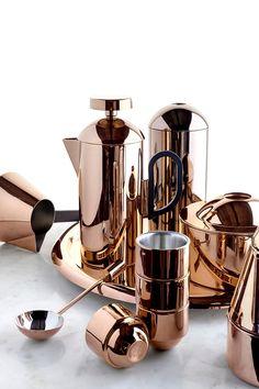 Tom Dixon bronze coffee set.