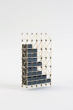 Frameworks by Studio Mieke Meijer Frameworks shows the possibilities of a system based on that of lattice constructions. Design Furniture, Home Furniture, Architecture Design, Shelving Systems, Interiores Design, Decoration, Home Furnishings, Storage, Arcology