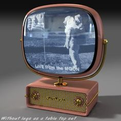 Predictra Model available on Turbo Squid, the world's leading provider of digital models for visualization, films, television, and games. Poste Radio Vintage, Vintage Tv, Television Set, Vintage Television, Tvs, Lego Modular, Retro Clock, Sneakers Fashion Outfits, Old Tv
