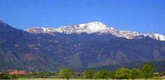 Venture to the top of Pike's Peak in Colorado Springs.