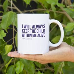 Quotes on mugs!