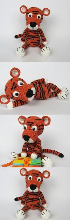 Little Tiger Tomy  Amigurumi Pattern