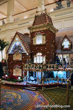 Close-Up! The 2015 Disney World Resort Gingerbread Displays   the disney food blog