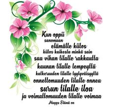 Finnish Words, Eid Collection, Powerful Words, Gratitude, Wise Words, Poems, Prayers, Thankful, Sayings