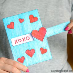 "Want to surprise your loved ones with a simple V-Day craft? We prepared a new printable Hidden Message Valentine's Day Card for your kiddos to make. This adorable ""hidden message"" card is a perfect gift for the 14th February. *this post contains affiliate links* Valentine's Day is a holiday when we love to show our …"