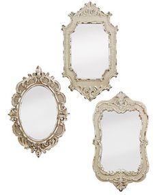 vintage look mirrors