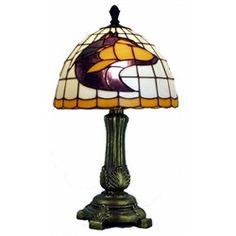 Sweet UW husky glass lamp!