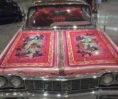 Imagem de car, pink, and vintage Pretty Cars, Cute Cars, Estilo Chola, Car Goals, Honda Element, Retro Aesthetic, Chicano, Future Car, Sexy Cars