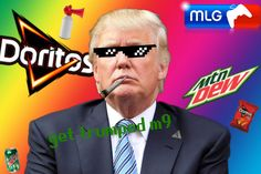 MLG Donald Trump by 4assassinninja on DeviantArt