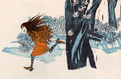 The Girl and the Goatherd or This and That and Thus and So - illustrated by Evaline Ness