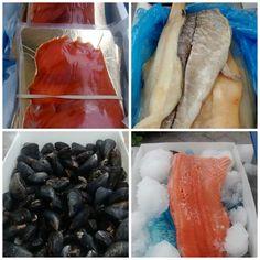 Fresh Fish at the market Farmers Market, Fish, The Originals, Pisces