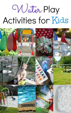 Check Out These Fun, Inventive Water Play Activities for Kids, Suggested by Crystal & Co.http://www.thejennyevolution.com/friday-flash-blog-no-28/ #wateractivities #kids #waterplay