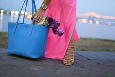 GiGi New York | Sky Blue Taylor Tote | Haute Off The Rack Fashion Blog