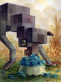 contemporary cubism.  interesting