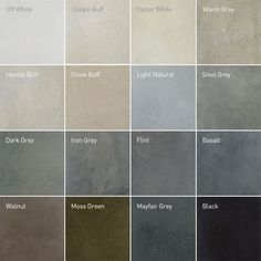 Lazenby Concrete Floor Colours For The Kitchen I M Quite Keen On Flint Basalt Or Mayfair Grey