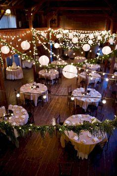 34 Chic and Romantic Wedding lightings Ideas - Bal de Promo Wedding Decorations On A Budget, Wedding Centerpieces, Wedding Table, Diy Wedding, Wedding Flowers, Wedding Venues, Table Decorations, Wedding Ideas, Trendy Wedding