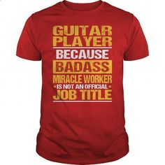Awesome Tee For Guitar Player - #shirt design #cotton t shirts. SIMILAR ITEMS => https://www.sunfrog.com/LifeStyle/Awesome-Tee-For-Guitar-Player-138447321-Red-Guys.html?id=60505