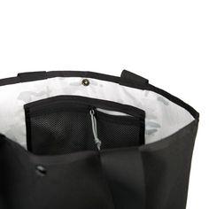 "Cordura Nylon Exterior Lightweight inner liner Interior mesh pocket Snap closure 15x5x16"" tall 23 Liters Handmade in California"