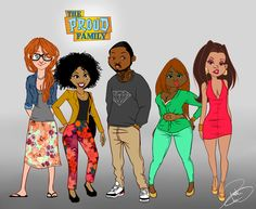 Tagged: the proud family Penny Proud dejonay jones all grown up disney tatted cartoon swag kyla pratt. Black Love Art, Black Girl Art, Black Is Beautiful, Black Girl Magic, Art Girl, Black Tv, Black Girls, Black Cartoon Characters, Black Girl Cartoon