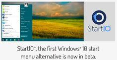 Startdock Memperkenalkan Start10, Untuk Mengganti Start Menu di Windows 10