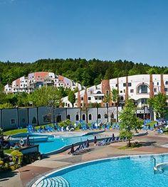 Rogner Bad Blumau - Hundertwasser Therme und Wellness-Hotel in der Steiermark, Österreich