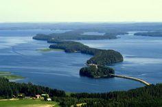 Lake Päijänne #Finland #lakeland