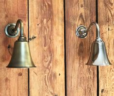 Handmade Swan Neck Bell Wall Light - Polished Nickel and Antique Brass Interior Wall Lights, Fashion Lighting, Polished Nickel, Decorative Bells, Swan, Wall Lighting, Sconces, Bespoke, Contemporary