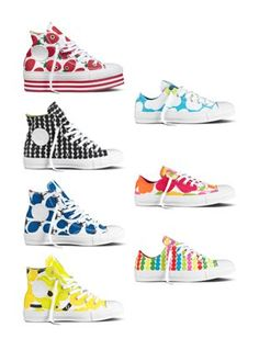 Converse ♥ Marimekko spring/summer 2013 collection to be launched in March Two of my favorite things Cute Converse, Outfits With Converse, Converse Sneakers, Converse All Star, Marimekko, Dream Shoes, Shoe Brands, Chuck Taylors, Me Too Shoes