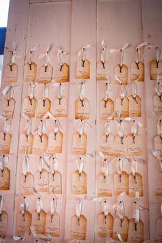 Vintage Key Tag DIY Blank Wedding Place Cards by InvitationToShine, $1.00