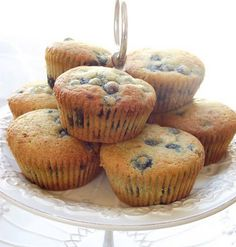 The Spunky Coconut: Easy Blueberry Muffins -- Tapioca & Coconut Flour