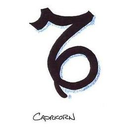 Zodiac Sign Capricorn Tattoo Designs