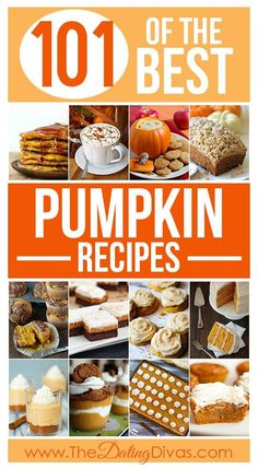 101 of the BEST Pumpkin Recipes