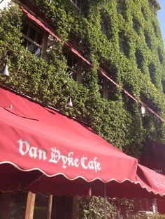 Van Dyke Café, Lincoln Road, Miami Beach. 1/11/2014.