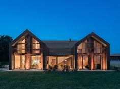 The villa is a modern take on old rural houses that are located in this outskirt…