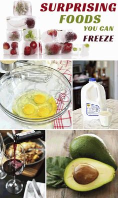 Surprising Foods You May Not Know You Can Freeze