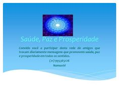 Carlos V. Machado: VENHA PARTICIPAR VOCÊ TAMBÉM