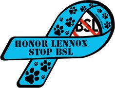 Custom Ribbon: Honor Lennox / stop bsl