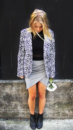 The Golden Girl - Snow Leopard Jacket Leopard Jacket, Online Fashion Boutique, Golden Girls, Snow Leopard, Latest Trends, Blazer, Jackets, Shopping, Collection