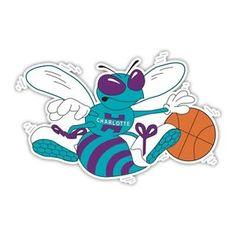 Hornets Basketball Logo | Charlotte-Hornets-NBA-Basketball-Logos-Car-Bumper-Window-Wall-Sticker