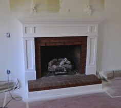 updated brick fireplace   Email This BlogThis! Share to Twitter Share to Facebook