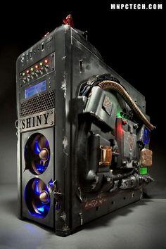 custom computer case: