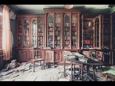 Abandoned Berkyn Manor (aka. Bull Manor, aka. Furhouse Manor) Library -- Berkshire, UK