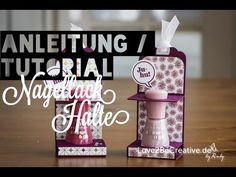 Video: Anleitung Nagellackhalter - Love2BeCreative.de - by Ruby