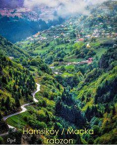 Hamsiköy Village, Maçka, Trabzon ⛵ Eastern Blacksea Region of Turkey ⚓ Östliche Schwarzmeerregion der Türkei #karadeniz #doğukaradeniz #trabzon #طرابزون #ტრაპიზონი #travel #city #nature #landscape #ecotourism #mythological #colchis #thegoldenfleece #thecolchiandragon #amazonwarriors #tzaniti