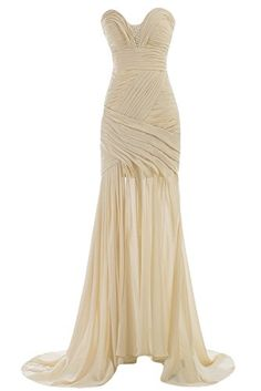 Sunvary 2015 Sweetheart Mermaid Chiffon Prom Evening Dresses Bridesmaid Dress Mother of the Bride Gowns Long US Size 4- Champagne Sunvary http://www.amazon.com/dp/B00MA07786/ref=cm_sw_r_pi_dp_7oNdub1BWYQRX