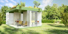 Tuinpaviljoen #paviljoen #tuin #hout #houtskeletbouw #open #glas #transparant #dutchdesign #architectuur #denieuwecontext #dnc #joeyrademakers #roelslabbers #wood #architecture #concept #grass #tinyhouse