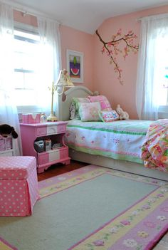 cute little girl's room - McAlister would love this room
