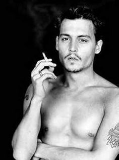 The only person that can make smoking a cigarette look sexy.