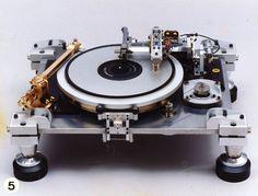 Les incroyables platines vinyle de Teragaki